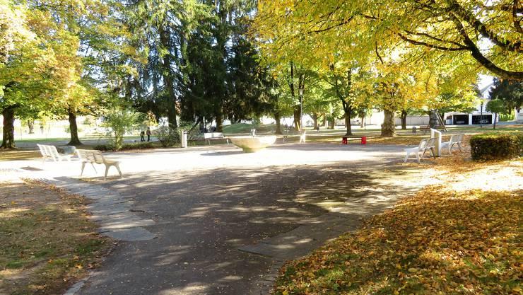 Startpunkt der Schnitzeljagd ist der Oberfeldpark.
