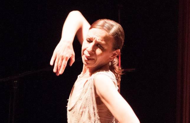 Flamencotänzerin an der KulTour 2012