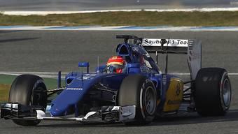 Felipe Nasr dreht seine Runden in Jerez de la Frontera.