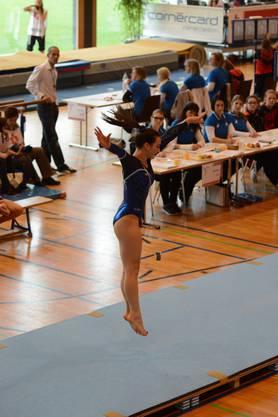 Alessia Romanelli am Boden
