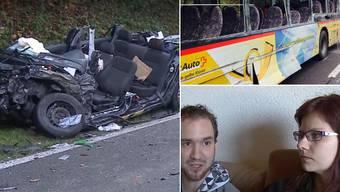 Verarbeiten den tragischen Unfall noch immer: Die Opfer des Postauto-Unfalls bei Endingen erinnern sich.