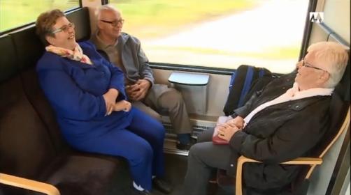 Drei Däniker Rentner stecken im Weissensteintunnel fest.