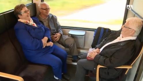 Die drei Däniker Rentner auf dem Weg nach Solothurn.
