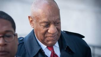 Im neu aufgerollten Prozess wegen sexueller Nötigung für schuldig befunden: US-Entertainer Bill Cosby (Archiv)