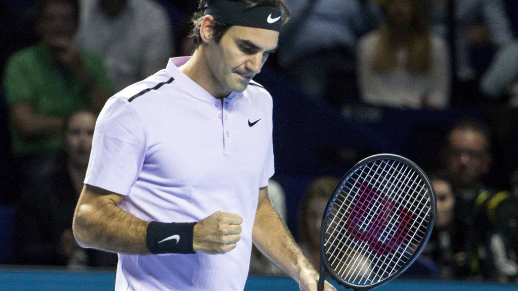 Steht am Heimturnier in Basel zum 13. Mal im Final: Roger Federer