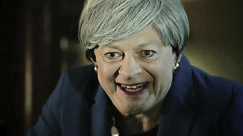 Gollumsa May kämpft für ihren Brexit und das Internet lacht mit