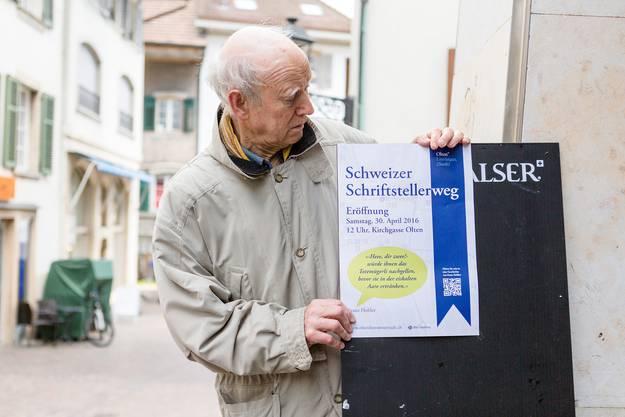 Der Hauptteil des Schriftstellerwegs besteht aus Franz-Hohler-Tour, ...