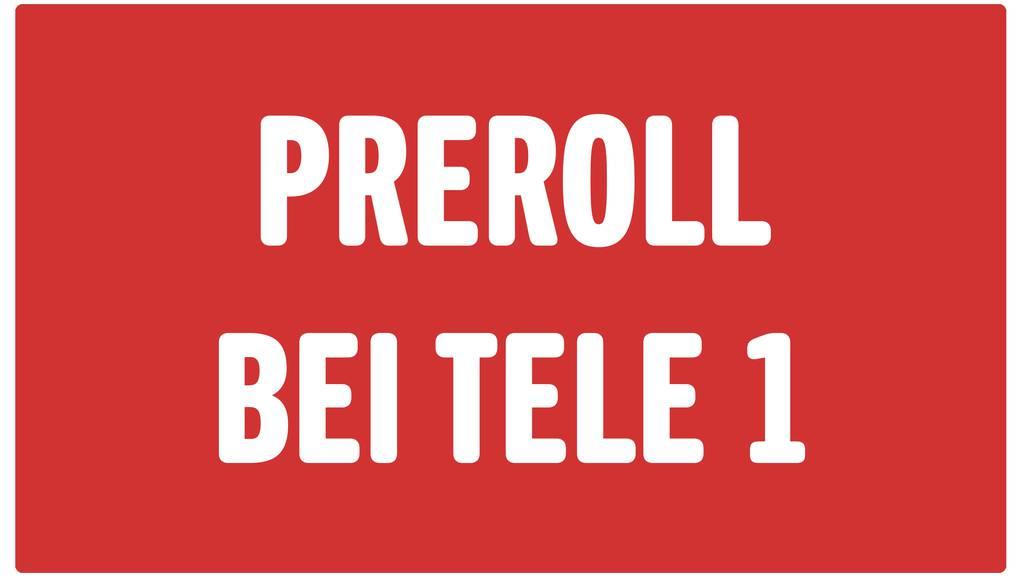 PilatusToday PreRoll bei Tele 1
