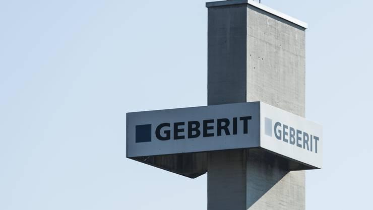 Geberit hatte im letzten Jahr mit dem starken Franken zu kämpfen. Statt um 3,4 Prozent wuchs der Umsatz lediglich um 0,1 Prozent.