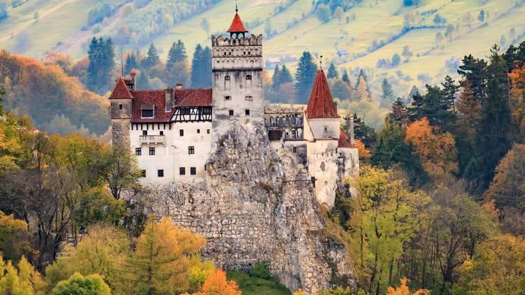 Mystische Burgen blicken auf die Besucher hinab. Bild: Shutterstock