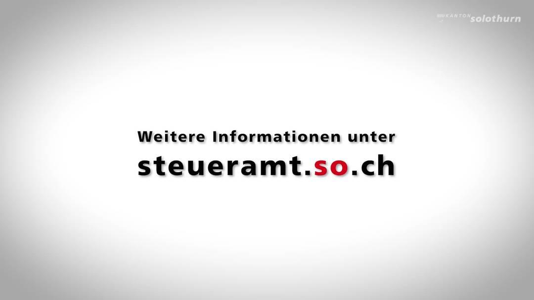 eTax Kanton Solothurn