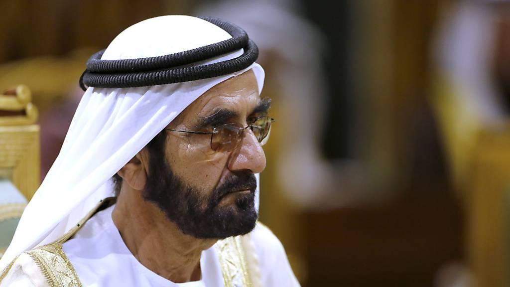 Familie des Emirs von Dubai: Prinzessin Latifa wird zu Hause betreut