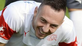 Dreifacher Torschütze im Trainingsspiel: Josip Drmic