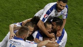 Italiens Triumph über Belgien in Bildern