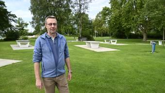 Paul Martin Joss, Leiter des Schwimmbads