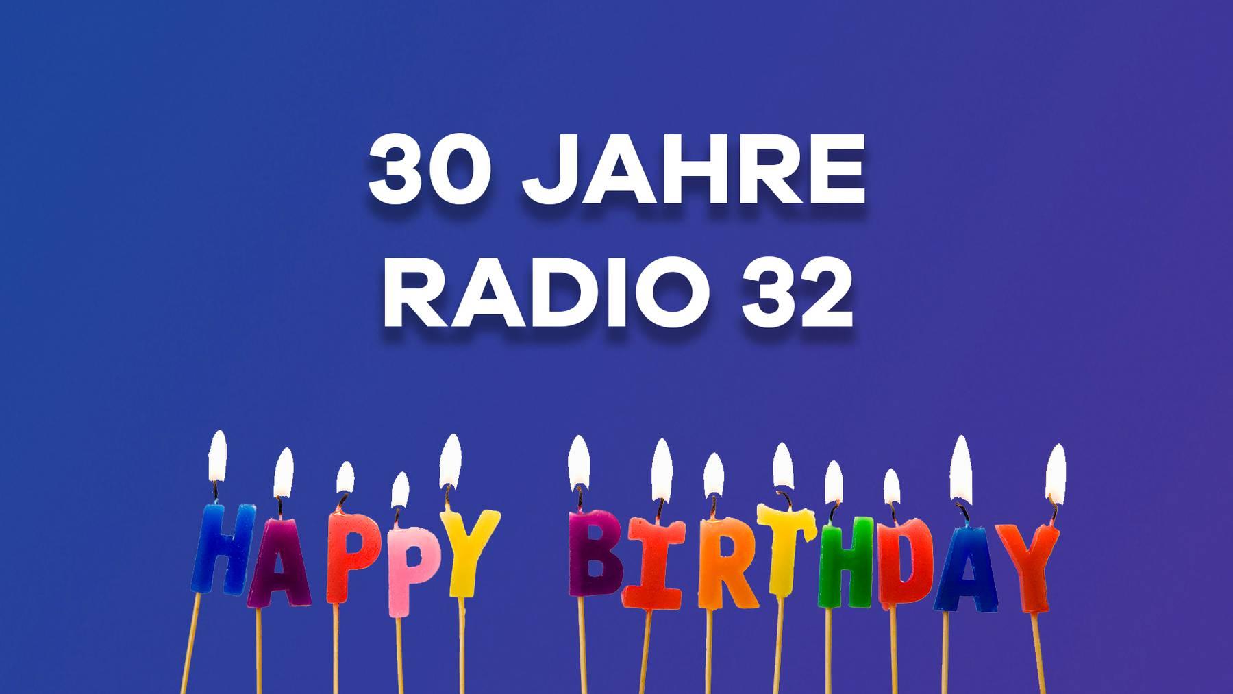 30 Jahre Radio 32 Geburtstag