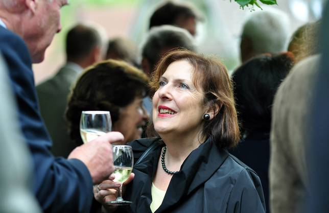 Regierungsrätin und Künstlerhaus-Beirätin Christine Egerszegi zu Gast bei der Jubiläumsfeier des Künstlerhauses
