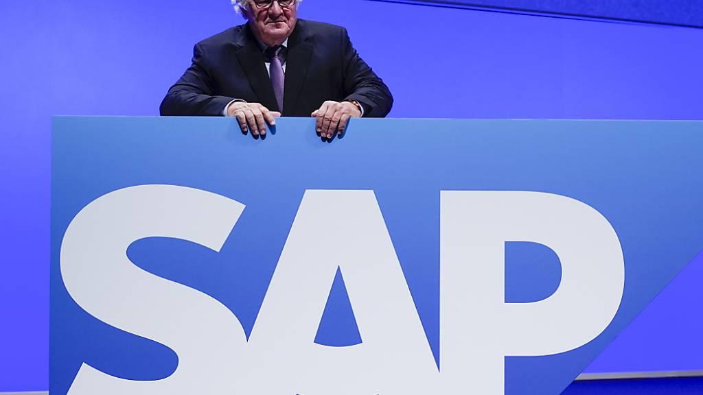 SAP legt unerwartet starkes zweites Quartal hin