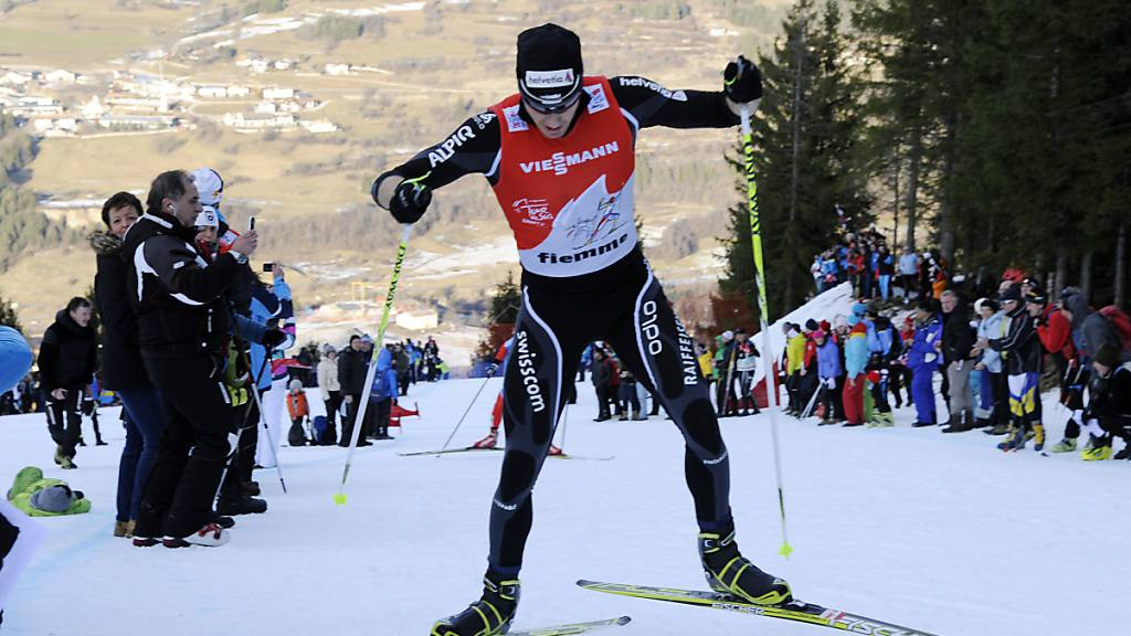 Dario Cologna schliesst die Tour de Ski als Achter ab