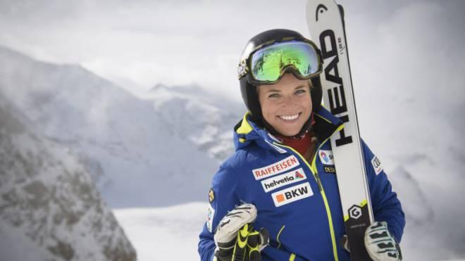 Lara Gut schafft sich Freiräume, um alles für den Erfolg zu tun. Foto: Gian Ehrenzeller/Keystone