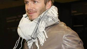 David Beckham hat einen Hund zu Weihnachten bekommen