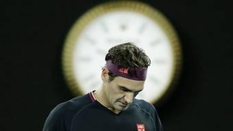 Roger Federer sagt, er vermisse das Tennis nicht gross.