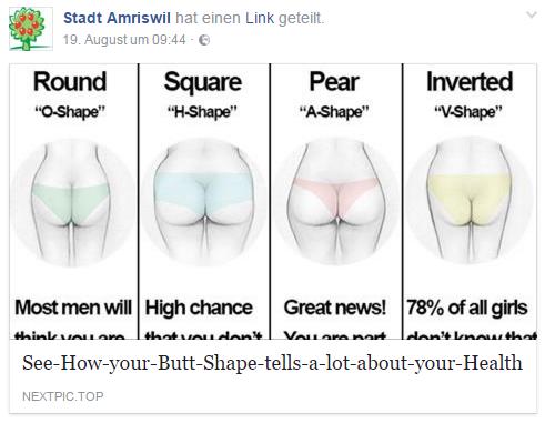 Facebook/Stadt Amriswil