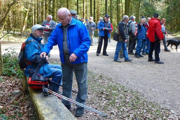 Zwischenhalt beim Gretzenbacher Waldhaus