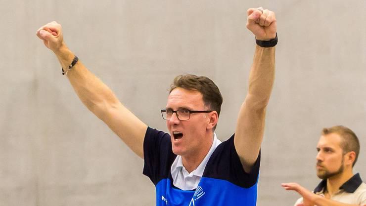 Schönenwerds Trainer Bujar Dervisaj freute sich über die Leistung seines Teams. (Archivbild)