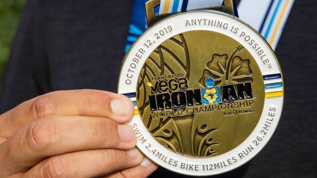 Erinnerungsmedaille Ironman-WM Hawaii 2019