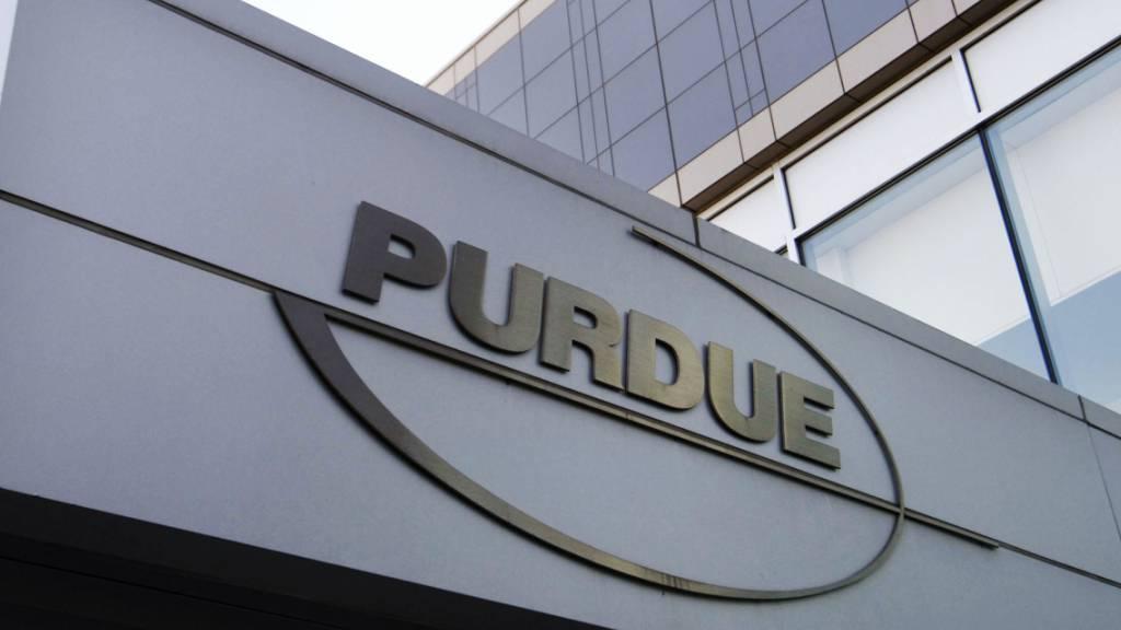 Hauptsitz des US-Pharmakonzerns Purdue in Stamford im Bundesstaat Connecticut. (Archivbild)
