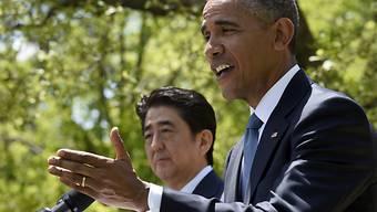 """Obama und Abe: Annäherung """"nützt der ganzen Welt"""""""