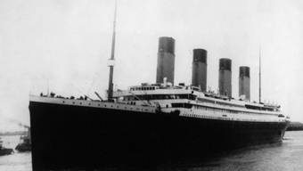 Aufnahme der Titanic aus dem Jahr 1912 (Archiv)