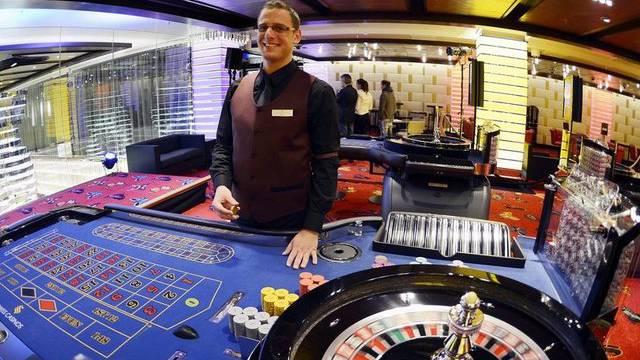 Der Roulette-Tisch im Casino Zürich
