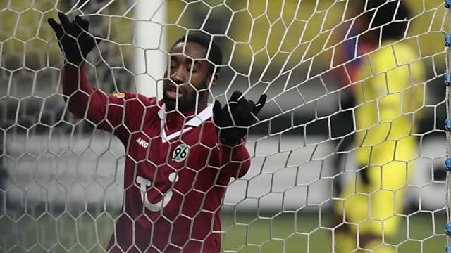 Die Abwehr der Hannoveraner um Johan Djourou liess drei Tore zu