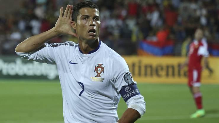 Cristiano Ronaldo verpasst Länderspiel in Genf