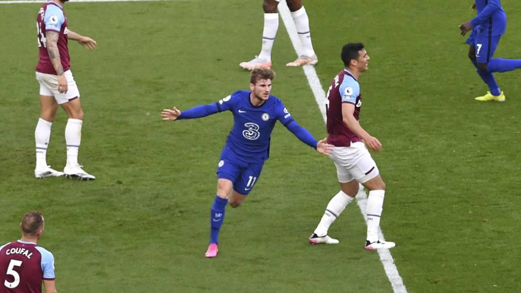 Ein seltener Auswärtstreffer von Timo Werner führt Chelsea in Richtung Königsklasse.