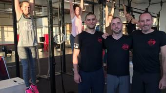 Die drei Besitzer des «House Of Movement»: Marco Vock (28, Windisch), Tobias Dort (32, Baden) und Roger Guerdi (48, Küttigen, v.l.).