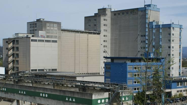 Das Provimi-Kliba-Areal in Kaiseraugst: Hier würde das geplante Holzheizkraftwerk der Industriellen Werke Basel (IWB) entstehen.