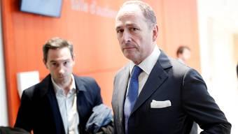 Mit UBS-Chefjurist Markus Diethelm (rechts) war auch ein Konzernleitungsmitglied am Prozess.