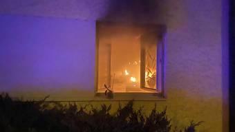 Sämtliche Bewohner des Hauses konnten die Liegenschaft vor dem Eintreffen der Feuerwehr verlassen.