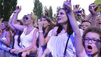 Die Highlights des diesjährigen Festivals sind die Auftritte der englischen Rockband Deep Purple und der deutschen Sängerin Nena. (Archiv)