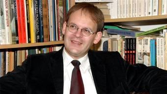Arpad Ferencz, der künftige Pfarrer von Auenstein.