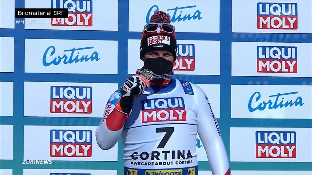 Beat Feuz holt an WM-Abfahrt in Cortina Bronze