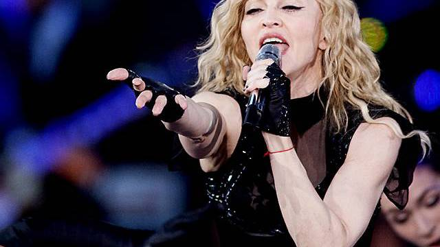 Madonna in Aktion (Archiv)