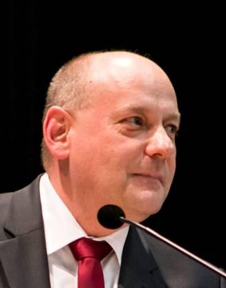 Gemeindepräsident Valentin Schmid