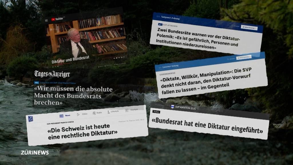 Diktatur-Vorwürfe gegen Bundesrat: Angebracht oder brandgefährlich?