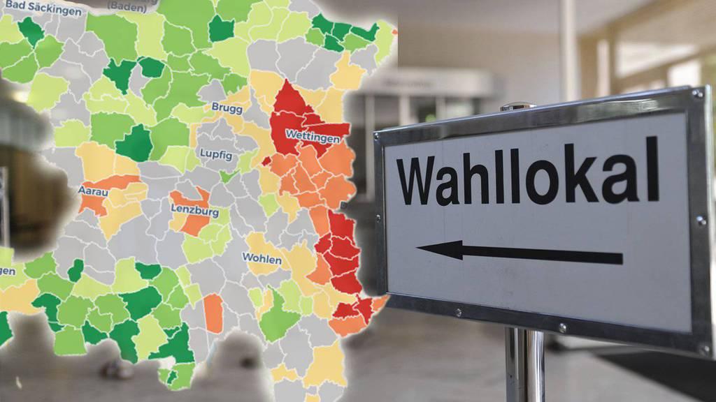 Kommunale Wahlen und Abstimmungen im Aargau