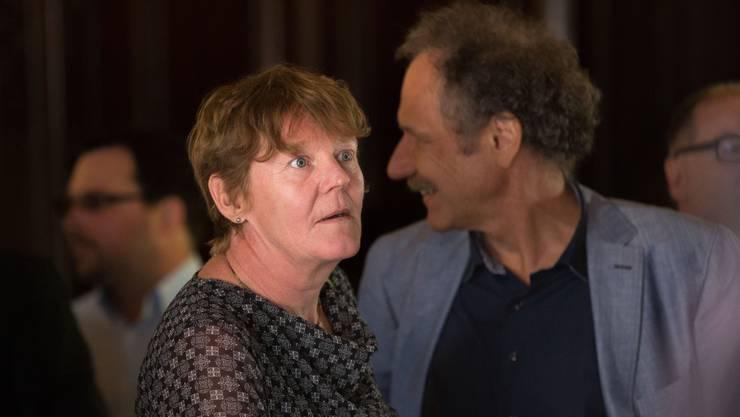 Paare und Verwandte im Solothurner Kantonsrat: Barbara Wyss Flück und Ehemann Heinz Flück