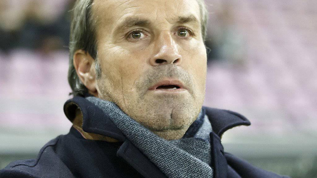 Wils Trainer Martin Rueda konnte das 0:0 gegen Chiasso nicht befriedigen